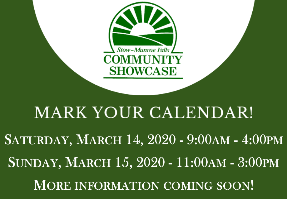 Save the Date! It's Showtime!